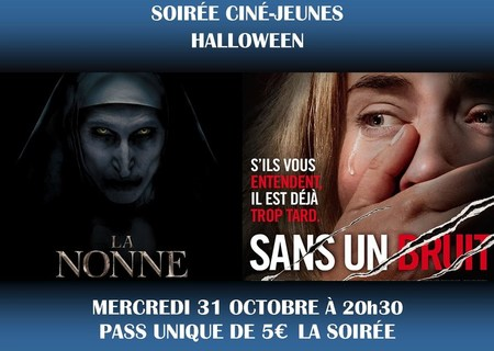Soirée Ciné-Jeunes Halloween - Mercredi 31 octobre à 20h30