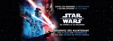 "Préventes ""Star wars: L'Ascension de Skywalker"""