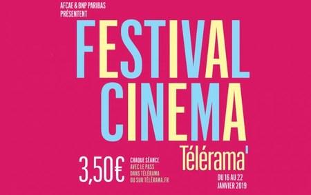 Festival Télérama du 16 au 22 janvier