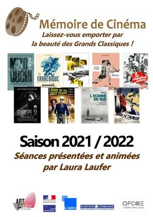 Programme Mémoire de Cinéma 2021-2022