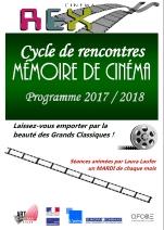 Mémoire de Cinéma 2017-2018