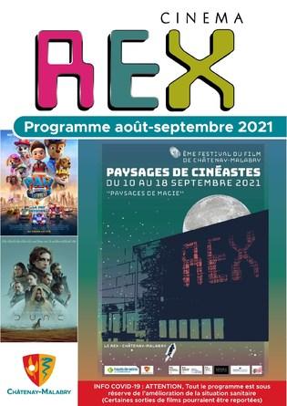 programme Août-septembre 2021